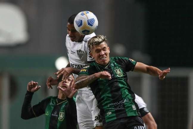 O Coelho vem de derrotar para o Galo, no clássico mineiro, e tenta evitar entrar no Z4-(Pedro Souza/Atlético-MG)