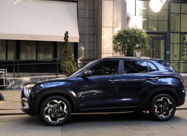 Novo Hyundai Creta terá pintura em dois tons e rodas com acabamento diamantado.