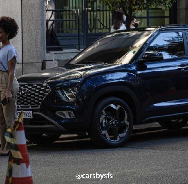 Novo Hyundai Creta terá grade dianteira exclusiva para o Brasil.