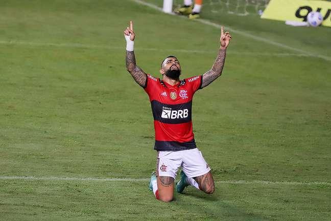 Gabigol tem ajudado o Flamengo a superar marcas históricas
