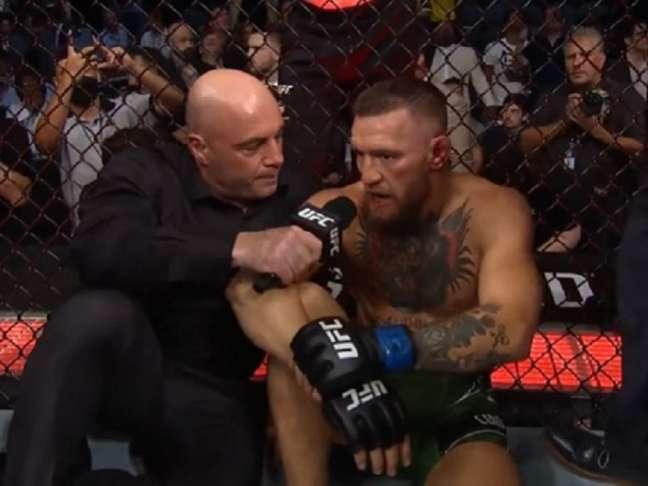 Dana revelou que McGregor tem artrite crônica nos tornozelos (Foto: Reprodução/YouTube/UFC)