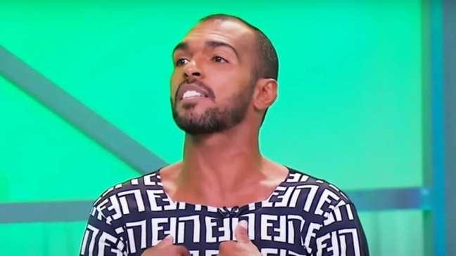 Richarlisson acusou um ex-goleiro do Fortaleza de ter aceitado mala branca (Foto:Reprodução/SBT)