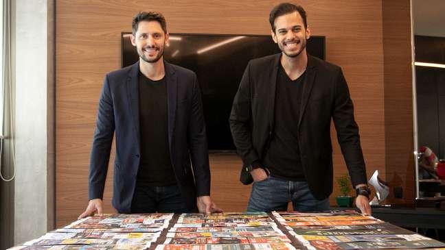 Os sócios Raphael Mattos e Pedro Machado