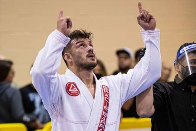 Marcos Vinicius Braga vem se destacando nas principais competições de Jiu-Jitsu (Foto: arquivo pessoal)