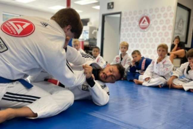 Marcos Vinicius Braga é um entusiasta do Jiu-Jitsu como ferramenta de transformação (Foto: arquivo pessoal)