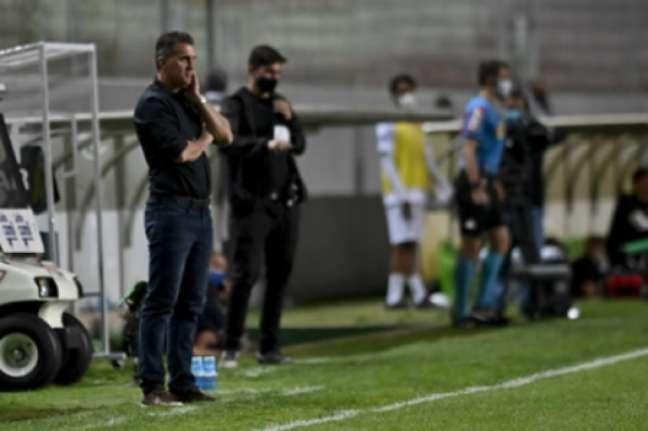 Mancini confia que o elenco americano irá ter reforços para o Brasileirão-(Mourão Panda/América-MG)