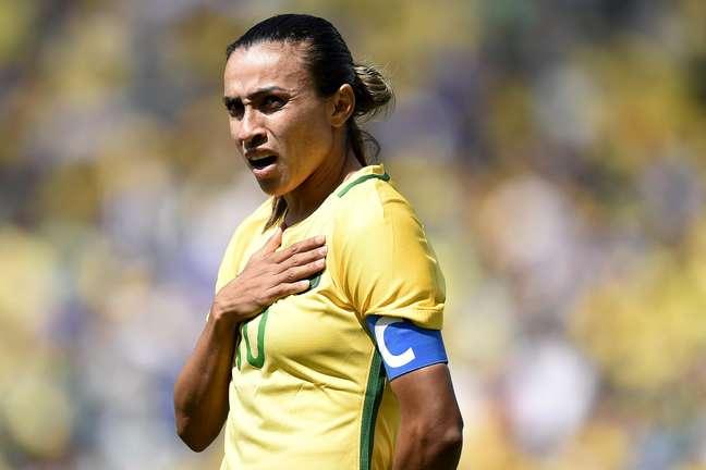 Marta estará em campo na estreia da Seleção Brasileira em Tóquio