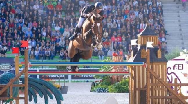 Jamie Kermond está fora dos Jogos Olímpicos (Foto: Divuglação/Equestrian Australia)