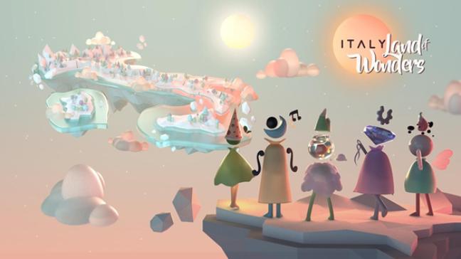 'Italy. Land of Wonders' foi lançado para celulares