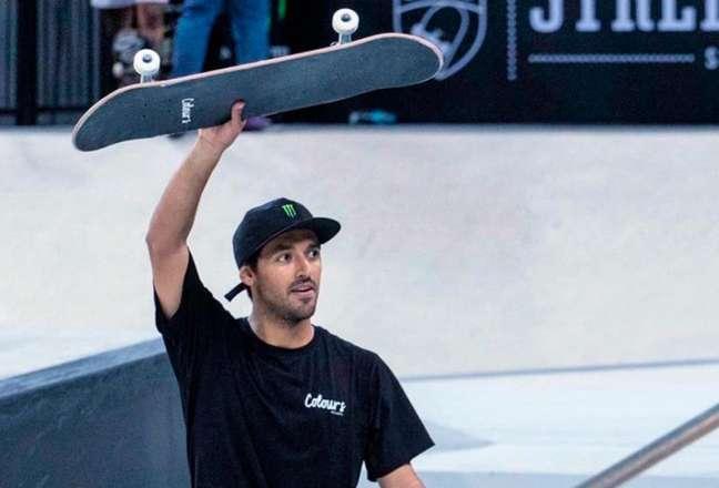 Kelvin Hoefler é esperança de medalha para o Brasil no Skate (Foto: Divulgação/Instagram)