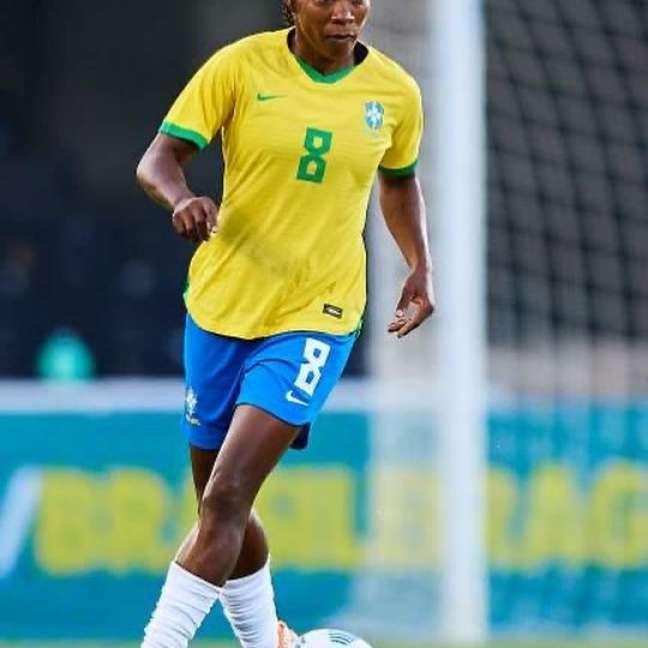 Formiga em jogo pela Seleção Brasileira Reprodução Instagram/@oficial_formiga
