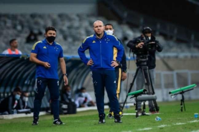 Mozart voltou a falar que não irá se demitir do Cruzeiro-(Bruno Haddad/Cruzeiro)