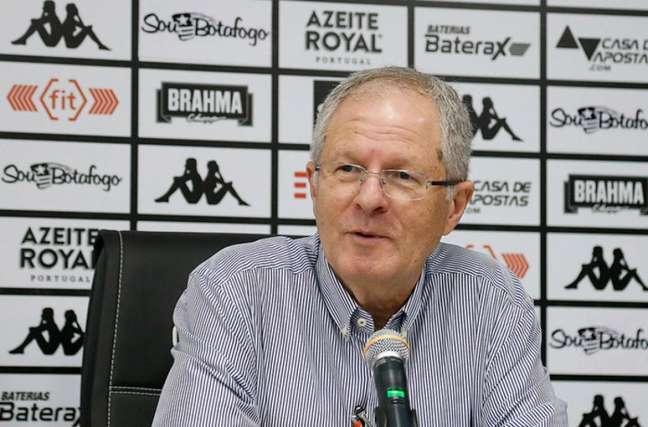 Carlos Eduardo Pereira foi presidente do Botafogo entre 2015 e 2017 (Foto: Vítor Silva/Botafogo)