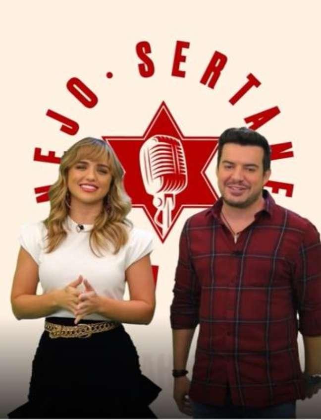 Rafa Kalimann e Belutti voltam apresentar programa juntos