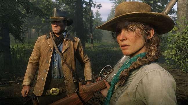 Red Dead Redemption (2, na imagem) traz um Velho Oeste muito bem representado, até as mais insignificantes minúcias.