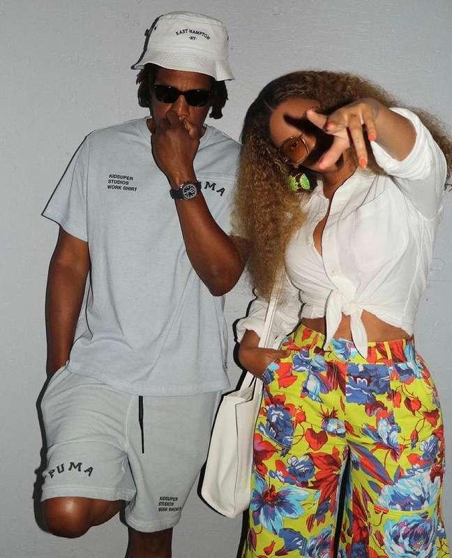 Beyoncé e Jay-Z estão juntos desde 2008 e são papais de Blue Ivu, Rumi e Sir.