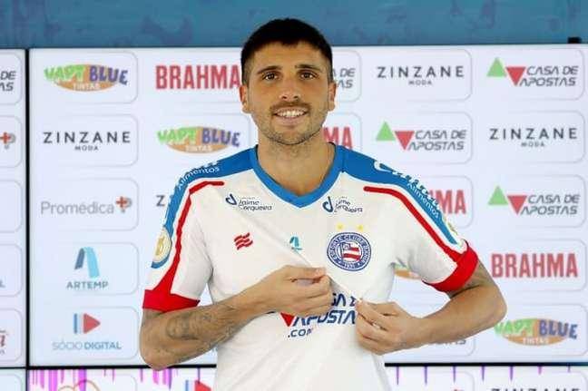 Jogador já passou no Brasil por Flamengo e Sport (Felipe Oliveira/EC Bahia)