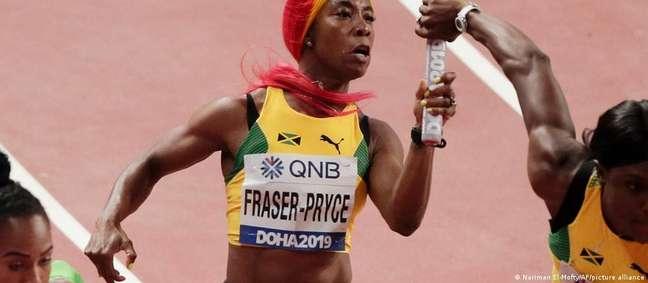 Shelly-Ann Fraser-Pryce, da Jamaica: país tem delegação de muitas medalhistas
