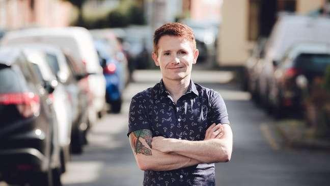 Alex Feis-Bryce estava preocupado de que a polícia não acreditasse nele
