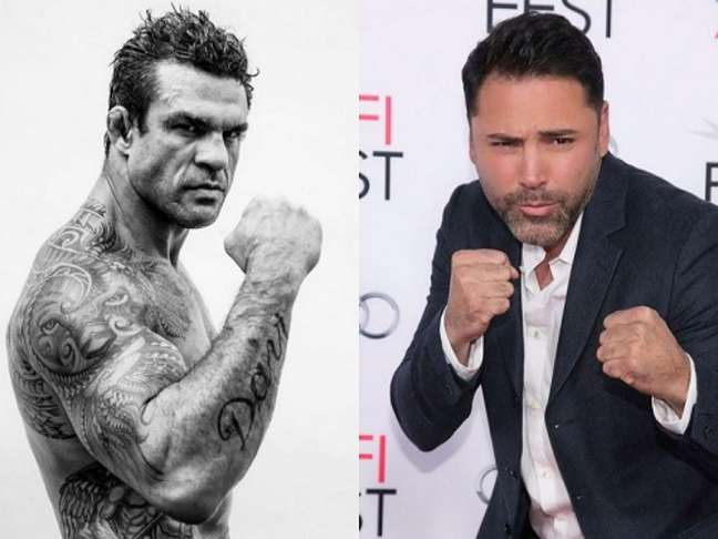 Duelo de Boxe entre Vitor Belfort e De La Hoya acontecerá em setembro (Foto: Reprodução/Instagram)