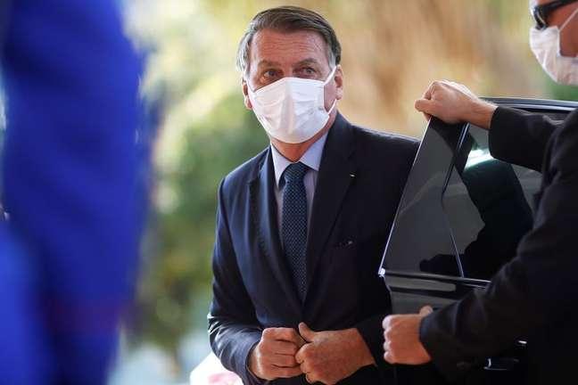 Presidente Jair Bolsonaro 22/07/2021 REUTERS/Adriano Machado