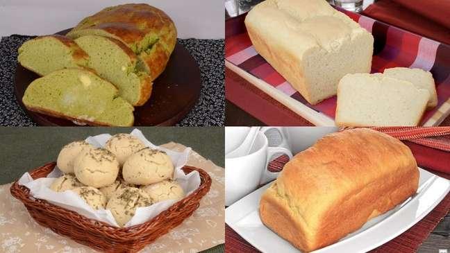 Receitas de pão sem glúten deliciosas e saudáveis