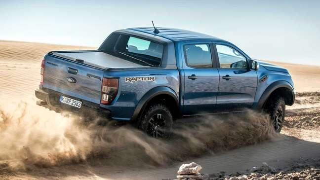 Ford Ranger Raptor é equipada com motor 2.0 biturbo diesel de 213 cv.