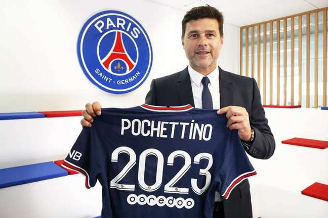 Pochettino está no PSG desde janeiro deste ano (Foto: Divulgação / PSG)