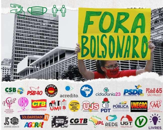 Grupo autointitulado 'Bloco Democrático' terá carro de som próprio e chamou sua concentração para o Conjunto Nacional neste sábado (24/07)