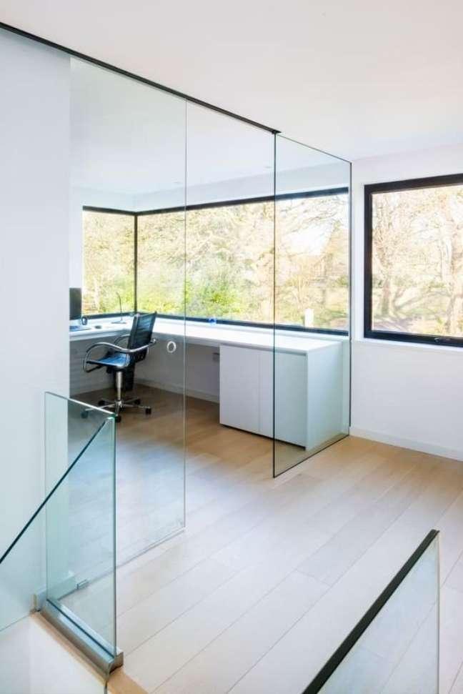 53. Divisórias para escritório de vidro – Foto Homify