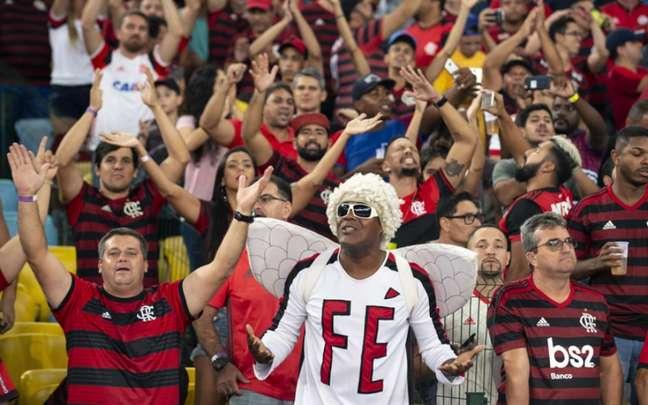 Flamengo pode ter a volta da torcida no Maracanã ainda nesta Libertadores (Foto: Celso Pupo/Fotoarena)
