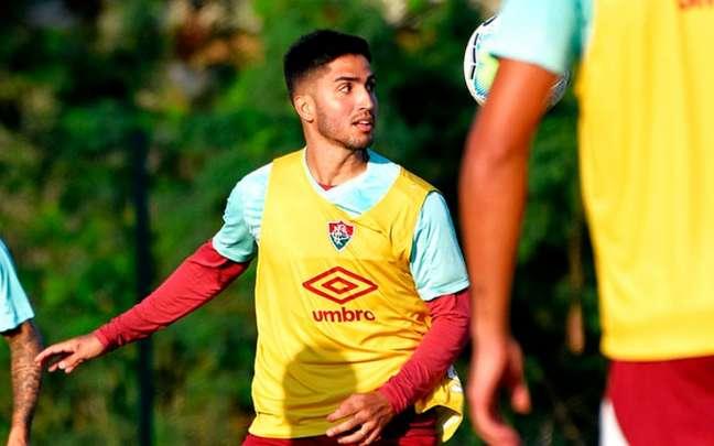 Igor Julião estava no Fluminense desde as categorias de base (Foto: MAILSON SANTANA/FLUMINENSE FC)