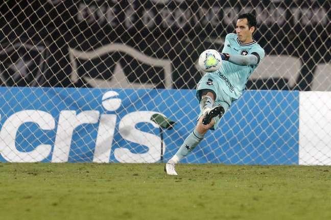 Gatito é goleiro do Botafogo (Foto: Vítor Silva/Botafogo)