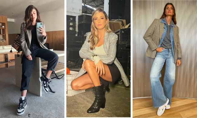 Juliana Paes, Tici Pinheiro e Isabella Fiorentinon(Fotos: Reprodução/Instagram)
