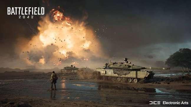 Battlefield 2042 é um dos principais games da Electronic Arts para este ano