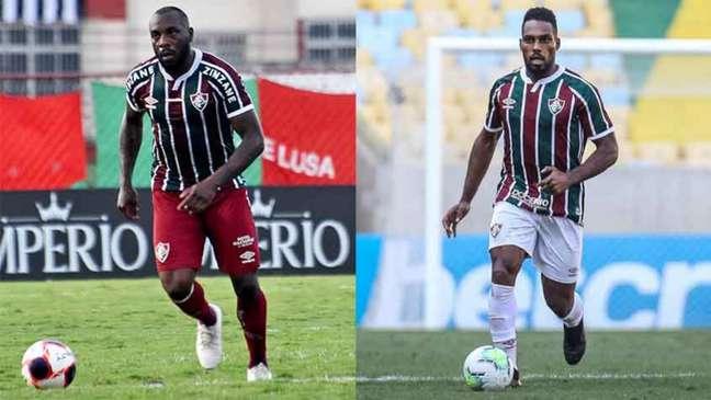 Antes do Fluminense, Luccas Claro e Manoel jogaram juntos na base do Athletico Paranaense (Montagem LANCE!)