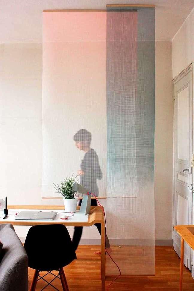 64. Divisórias para escritório moderno e criativo – Foto Pinterest