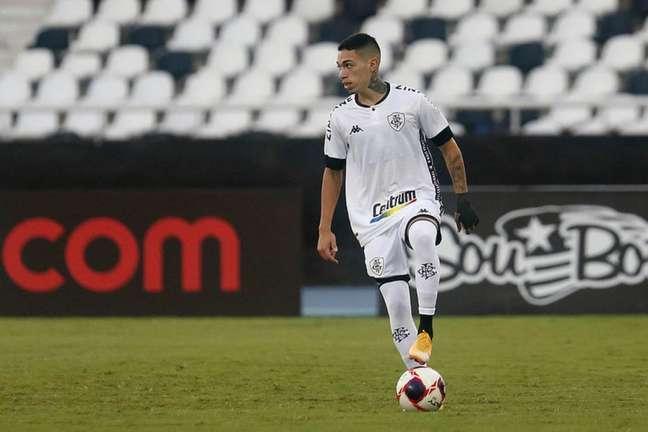 Hugo não foi relacionado para o jogo (Foto: Vítor Silva/Botafogo)