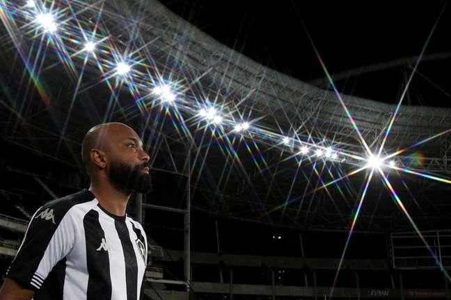 Chay e Kanu não estão à disposição do técnico Enderson MOreira (Foto: Vítor Silva/Botafogo)