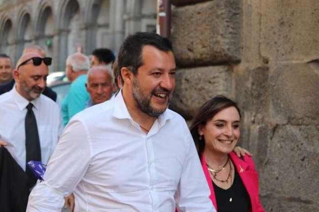 Matteo Salvini estava relutante em se vacinar contra Covid