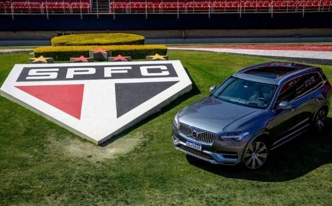 São Paulo e Volvo anunciam parceria (Foto: Igor Amorim/saopaulofc.net)