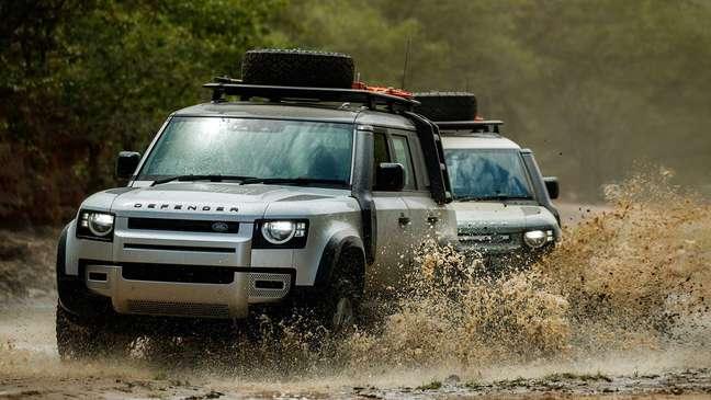 Land Rover Defender 2022 estará disponível nas concessionárias da marca em agosto.