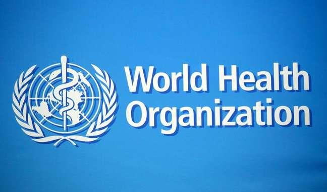 Logo da Organização Mundial de Saúde na sede da entidade em Genebra 02/02/2020 REUTERS/Denis Balibouse