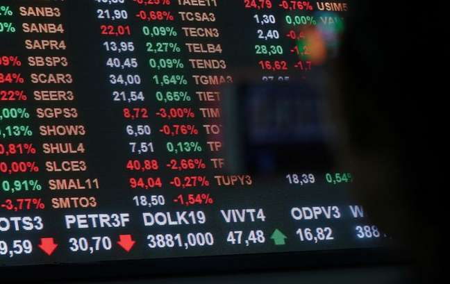 Bolsa de valores de São Paulo  03/04/2019 REUTERS/Amanda Perobelli