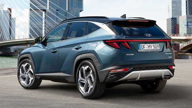 Novo Hyundai Tucson conta com visual ousado.