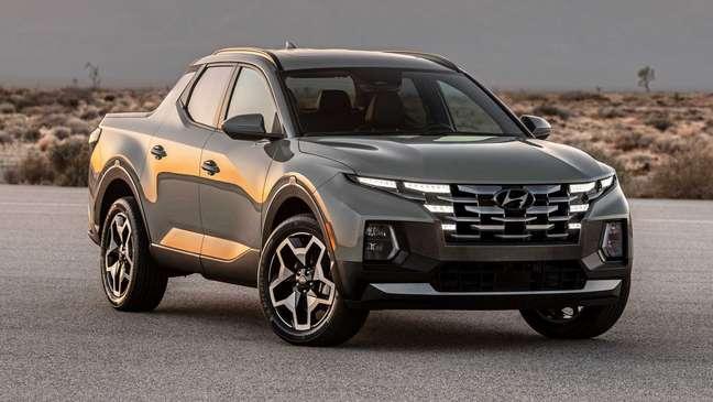 Picape Hyundai Santa Cruz tem chances de ser produzida pela Caoa em Anápolis (GO).