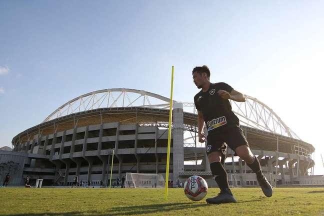 Luís Oyama vestiu a camisa botafoguense em oito oportunidades. (Foto: Divulgação/Vítor Silva)