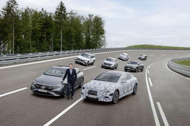 Mercedes-Benz quer se tornar 100% elétrica até 2030.
