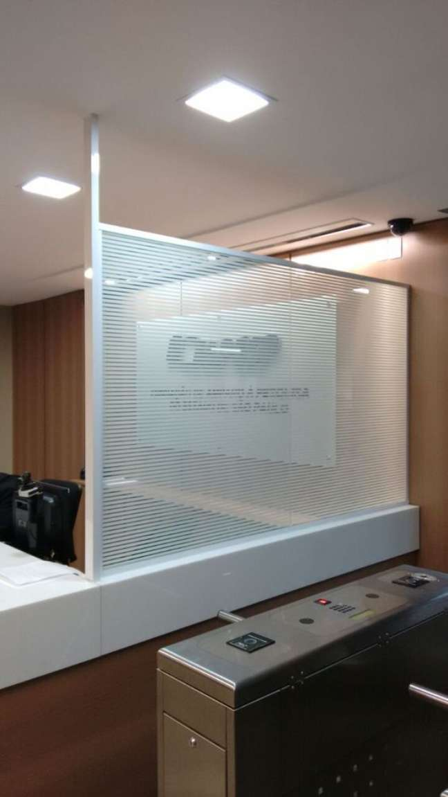 54. Divisórias para escritório de vidro – Foto Special Glass Decorações