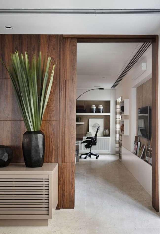 59. Ideias de divisórias para escritório em casa – Foto Pinteres